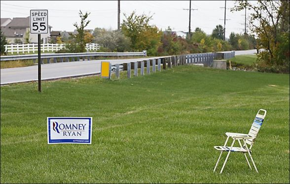 Romney-Ryan Sign