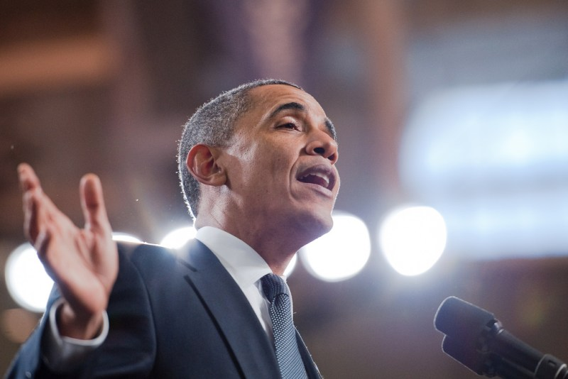 President Obama - photo by Penn State