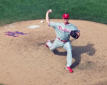 Philadelphia Phillies - Jonathan Papelbon - closing pitcher - photo by Paul Hadsall