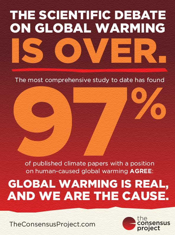 The Consensus Project - The Scientific Debate On Global Warming Is Over