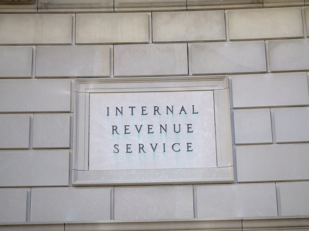 Internal Revenue Service - photo by Ray Tsang