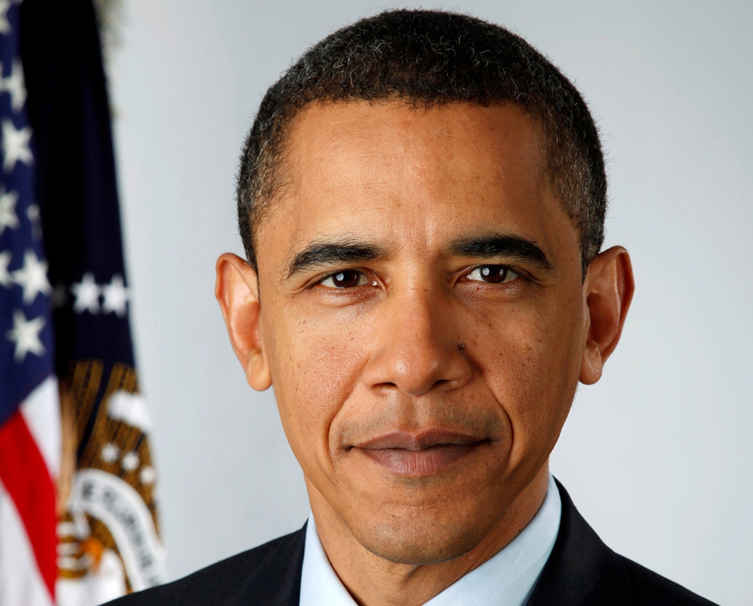 President Obama - official first term portrait