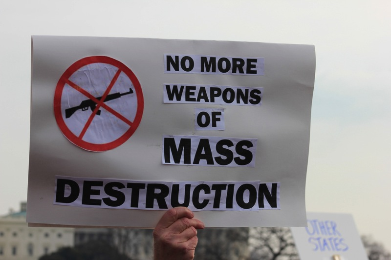 No more weapons of mass destruction ban assault rifle