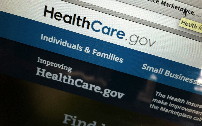Healthcare gov website