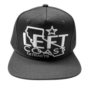 Left Coast Extracts | Left Coast Snapback | The Flat Brim