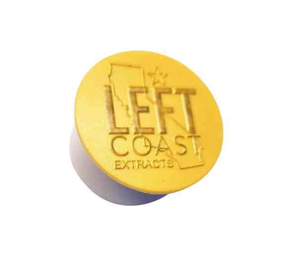 Left Coast Extracts | Left Coast Popsocket | Gold