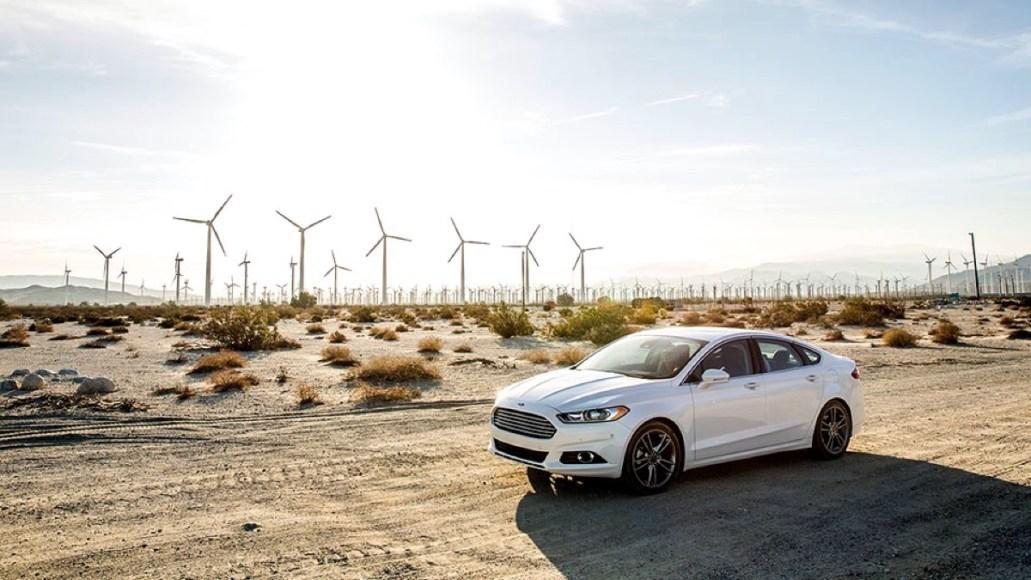 Ford Fusion Energi. Plug-in hybrid. 100 MPGe. 21 mile electric range.