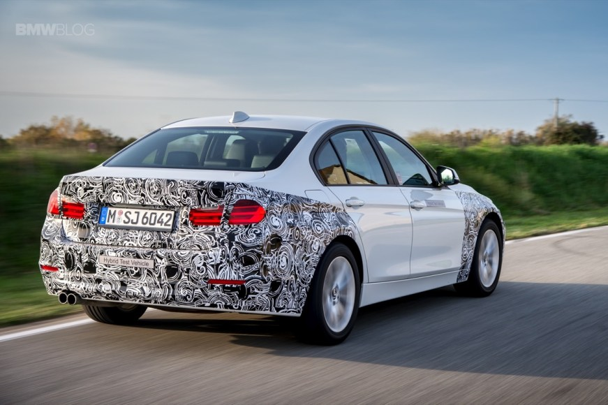 BMW 3 Series. Plug-in hybrid. Soon every BMW model will come in an electric version.
