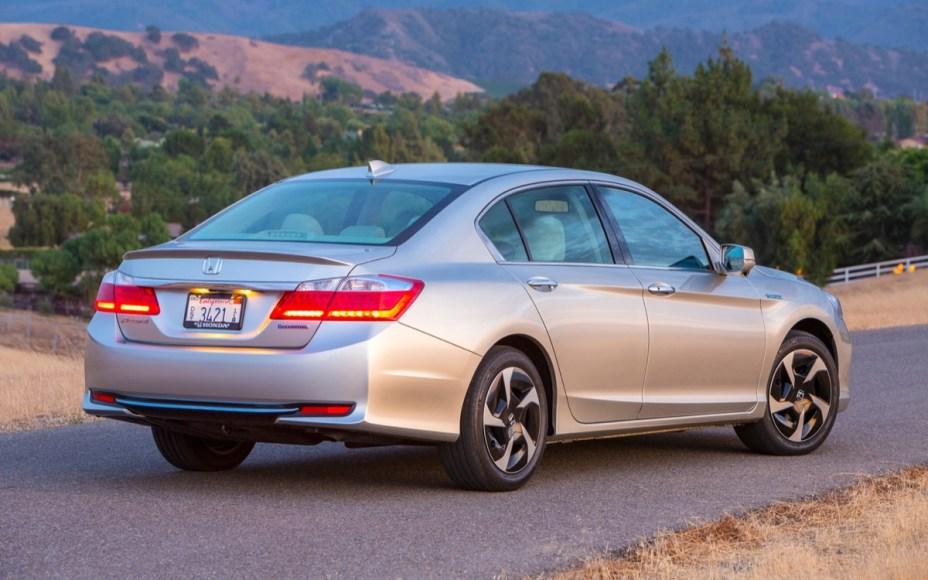 Honda Accord PHEV. Plug-in hybrid. 115 MPGe on battery. 46 MPG on gas. 13 mile electric range.