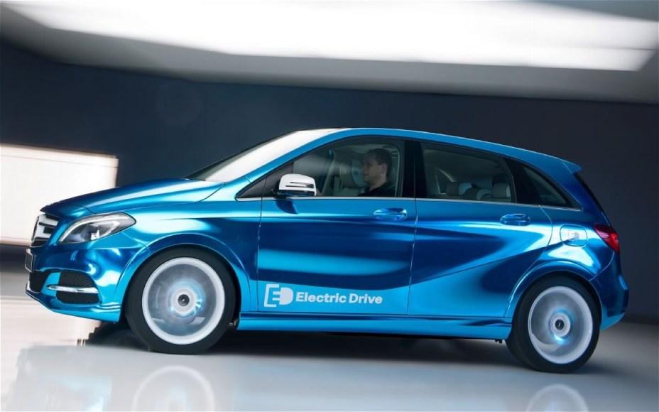 Mercedes-Benz B-class Electric. 100% electric. 84 MPGe. 84 mile range.