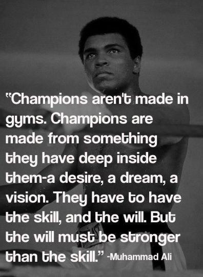 Ali champion