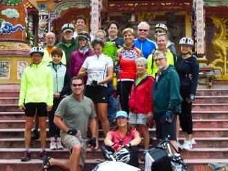 Vietnam biking group, 2012