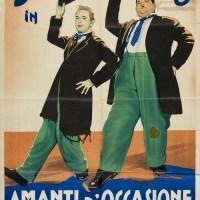Love this,'Stanlio e Ollio' no less, in a 1942 It…