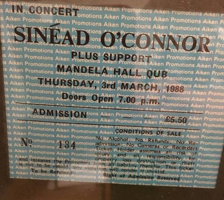 Sinead O'Connor in Belfast