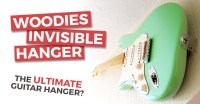 Woodies Invisible Guitar Hanger - Guitar Wall Mount Review
