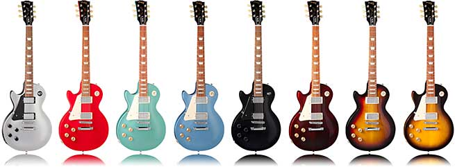 new 2012 gibson les