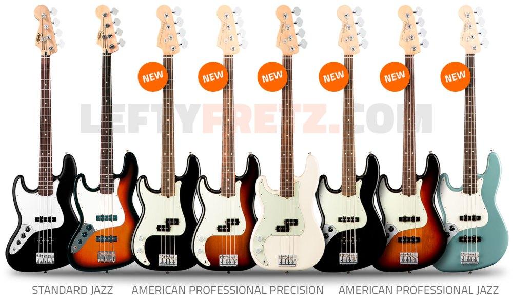 medium resolution of left handed fender guitars basses ultimate guide left handed fender bass guitars 2017