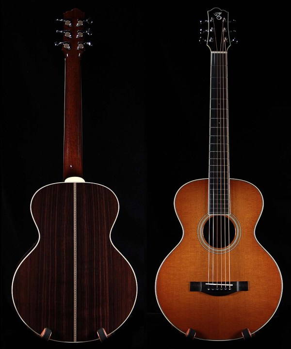 Santa Cruz Firefly Guitar - Year of Clean Water