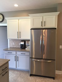 Kitchen Cabinet Paintover Makeover  Lefty Loosey