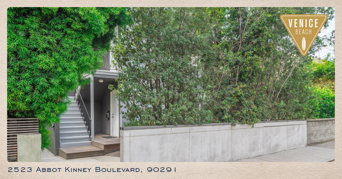 2523 Abbot Kinney Boulevard