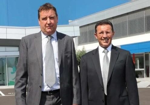 Il presidente di SFT Mauro Coser e il direttore generale Armando Paoli