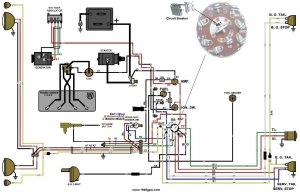 G503 WWII Willys and Ford MidLate 1944 Jeep Wiring Diagram
