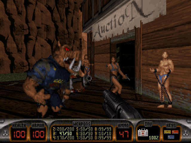 3d Wallpapers Buy Online 3d Realms Site Duke Nukem 3d Atomic Edition