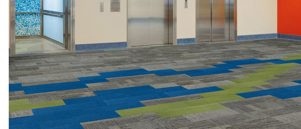 Interface Modular Carpet Tiles