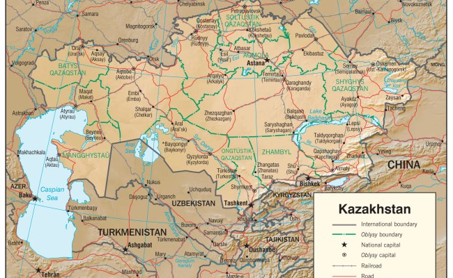 Kazakhstan Maps Perry Castañeda Map Collection Ut