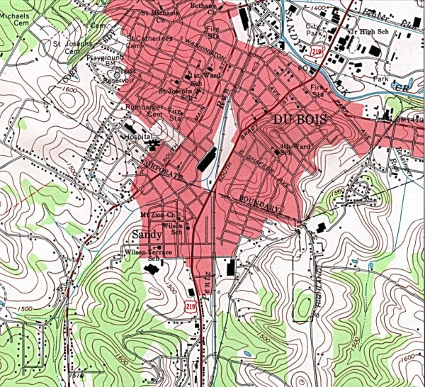 Pennsylvania Maps PerryCasta241eda Map Collection UT