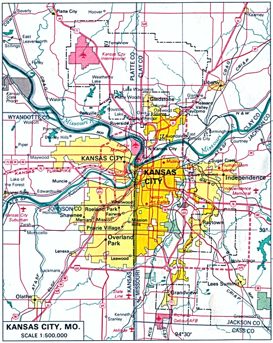 University Of Kansas Map : university, kansas, Kansas, Perry-Castañeda, Collection, Library, Online