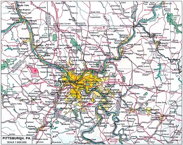 Pennsylvania Maps PerryCastañeda Map Collection UT
