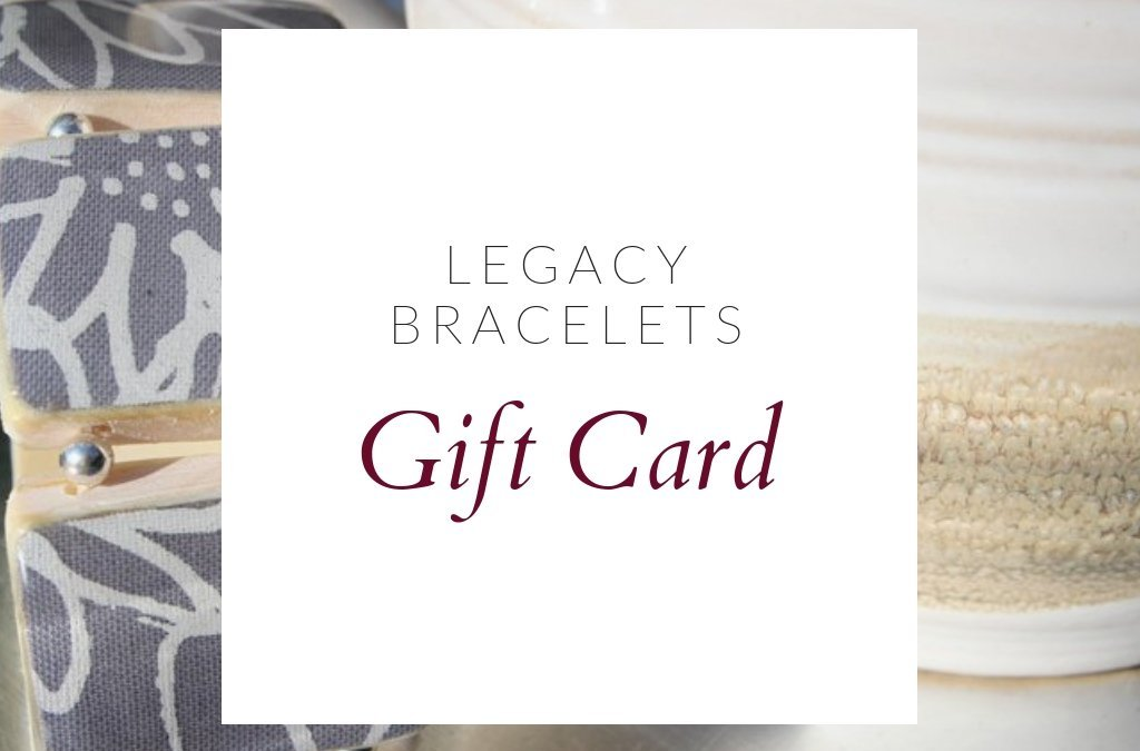 New for the holidays- Legacy Gift Cards!