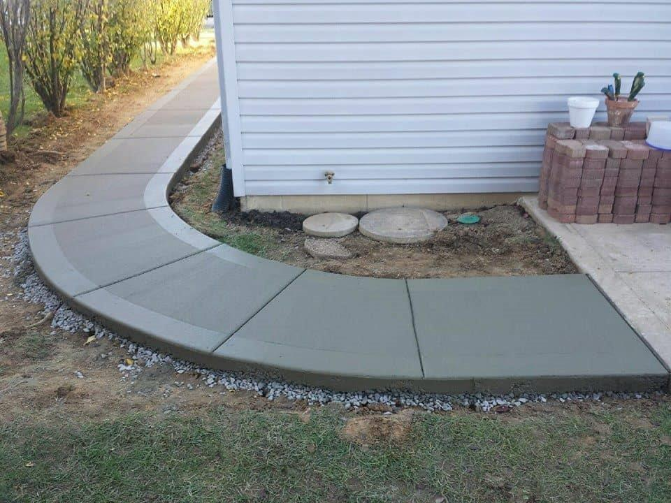 wrap-around-concrete-walkway