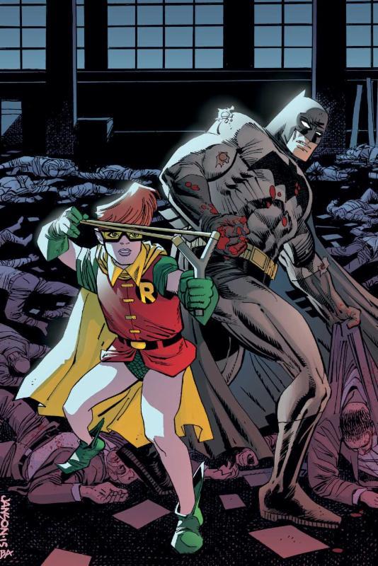 Batman Dark Knight III 3 Master Race #1 1:10 Variant Cover Jill Thompson 2015