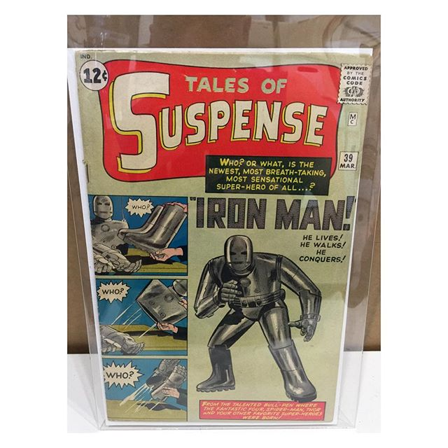 Newest arrival #talesofsuspense39 #1stironman #ironman