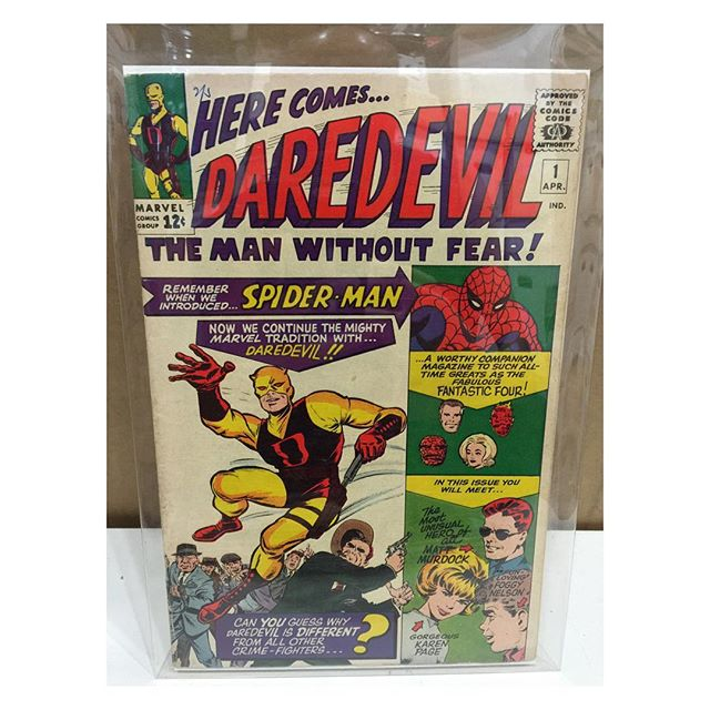Newest arrival - #daredevil #1
