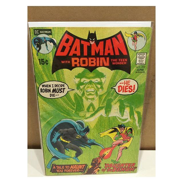 Newest arrival #batman #232 1st Ra's Al Ghul
