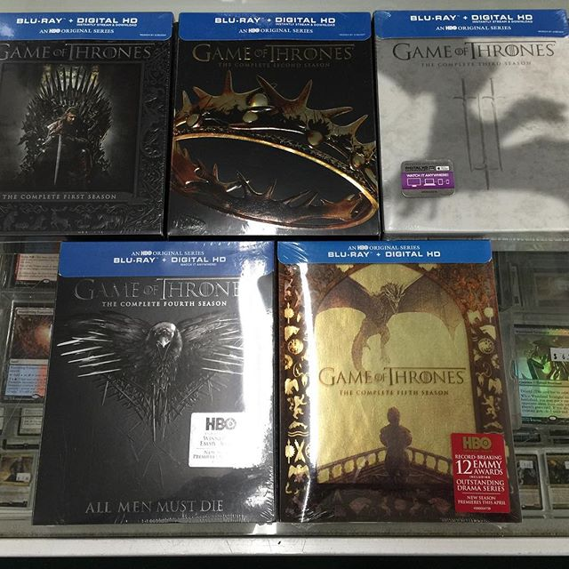 Congratulations to Erin Farley for winning #gameofthrones seasons 1-5 Blu-Ray giveaway!  Check back Wed 3/30 for another amazing giveaway!