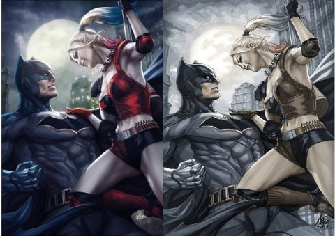 Batman 1 color and sketch legacy edition