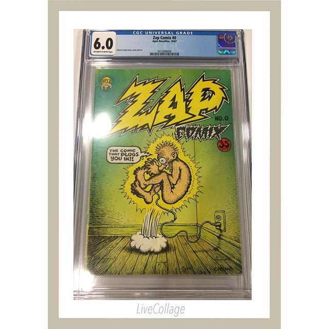 Zap Comix #0 1st print just arrived from #cgc #robertcrumb #zapcomix #undergroundcomics #undergroundcomix
