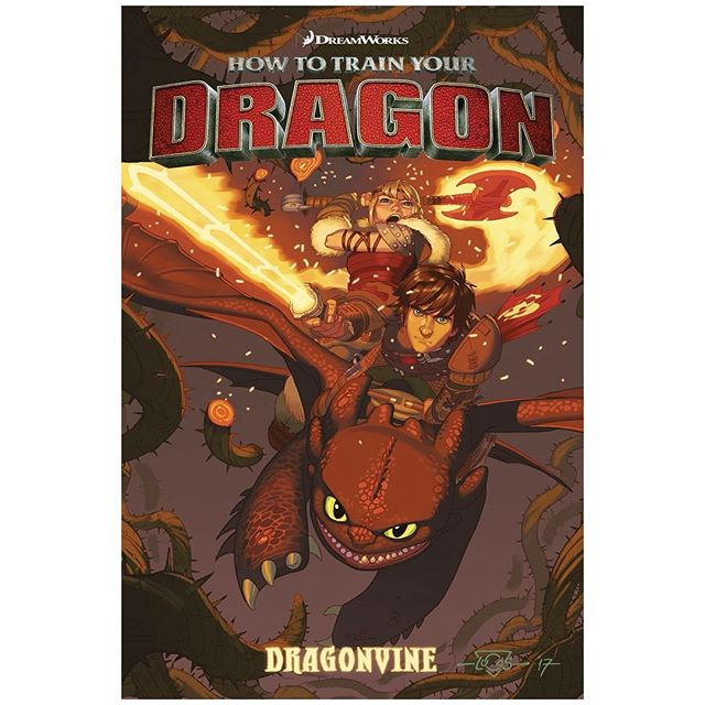 To celebrate next week's release of #Dragonvine, Richard Hamilton is once again signing at his home away from home -- Legacy Comics and Cards!Stop on by Wed. 8/22 from 12-3 pm to check out the latest #HTTYD graphic novel by Richard Hamilton and Dean DeBlois. We'll also have copies of #TheSerpentsHeir, the #Trollhunters OGN he co-wrote with Marc Guggenheim -- AND his own creator-owned comic, SCOOP. #DarkHorseComics #InsightComics #howtotrainyourdragon