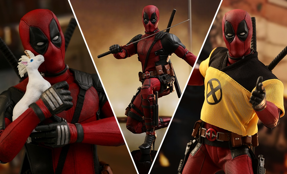 Deadpool 2 – Movie Masterpiece Series – Sixth Scale Figure by Hot Toys