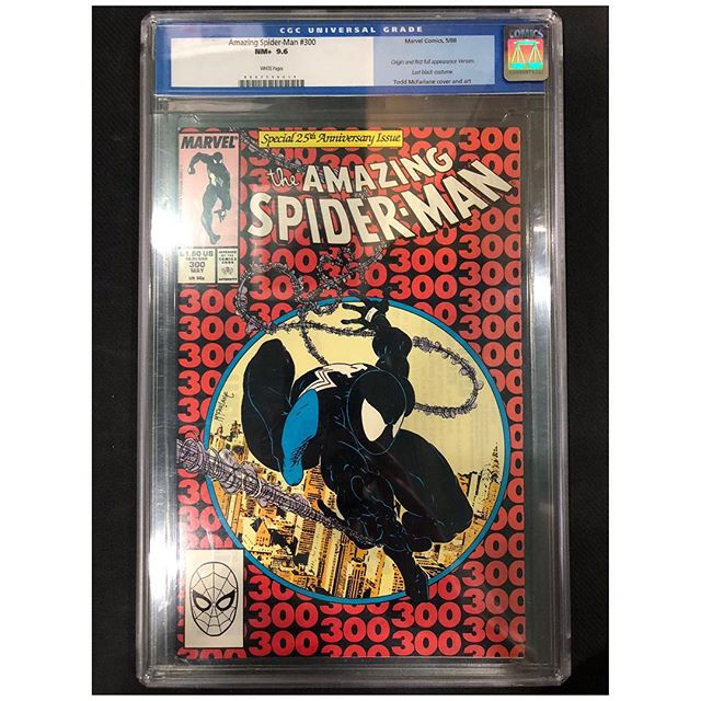 Calling all #venom Collectors!  We have gotten in lots of high grade Venom keys for sale!  Please DM us for pricing. #spiderman #amazingspiderman #cgccomics #cgc #toddmcfarlane #secretwars #captainamerica #igcomicfamily #igcomics