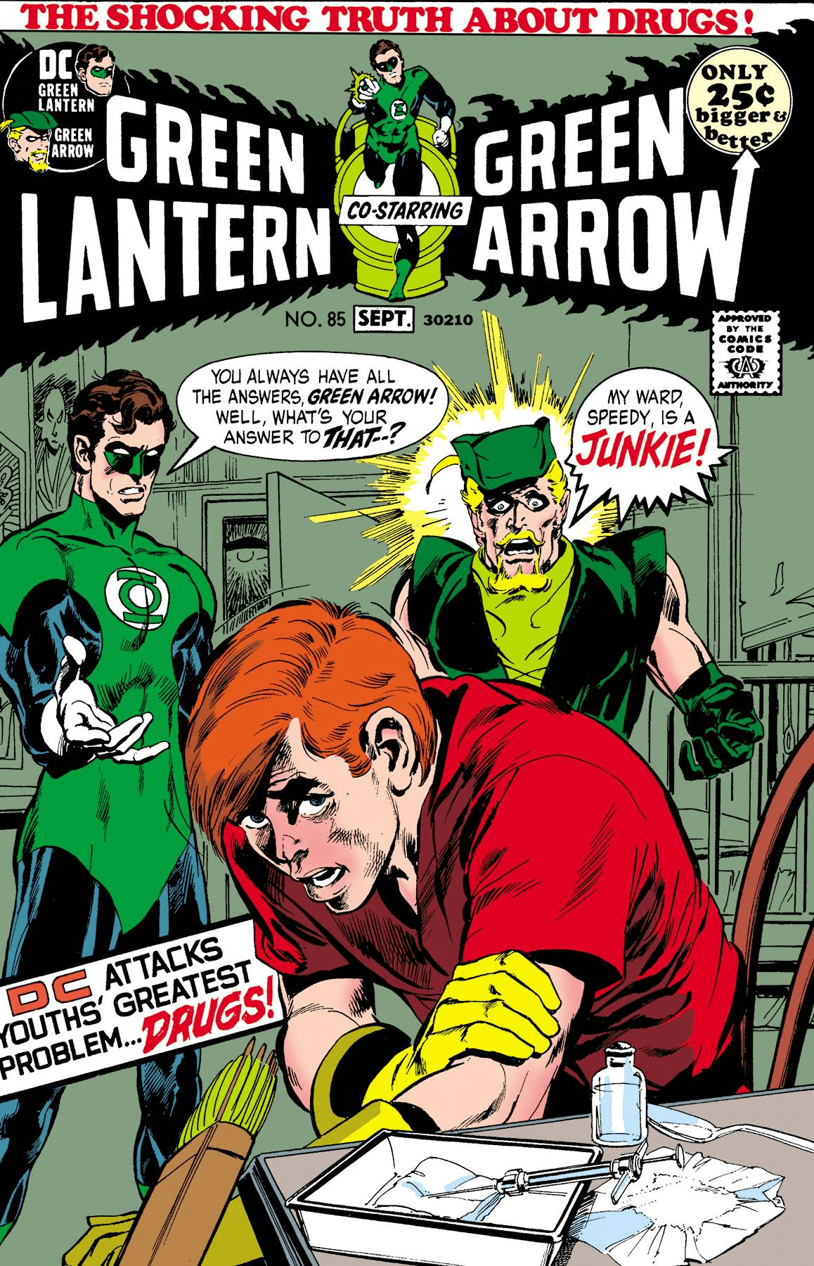 Green Lantern Green Arrow #85 Facsimile Edition |