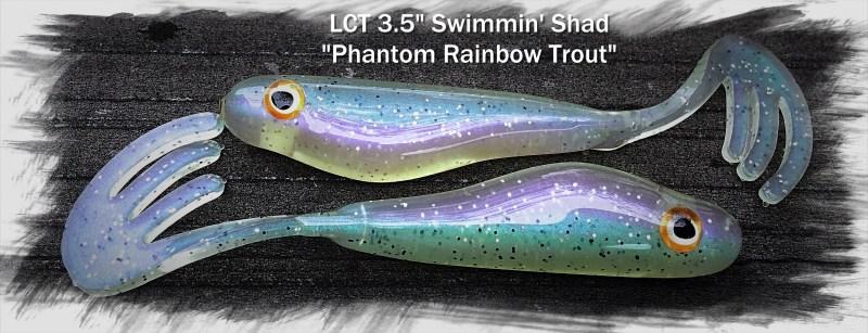 LCT 3.5 Swimmin Shad Phantom Rainbow Trout 3056x1172