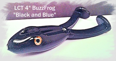 LCT 4.0 BuzzFrog Black and Blue 400x209