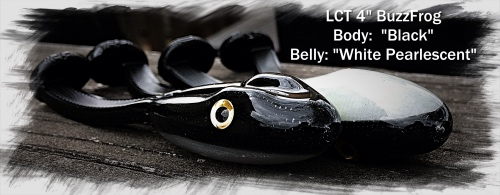 LCT 4.0 BuzzFrog Black with White Pearlescent 500x195 2 copy