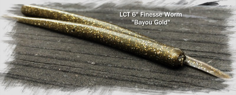 LCT 6.0 Finesse Worm Bayou Gold 3218x1303