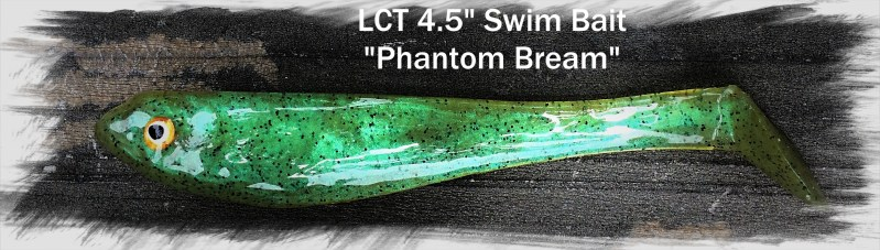 LCT 4.5 Swim Bait Phantom Bream 2504x711